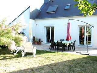 Maison avec jardin clos à 500 m de la plage, avec WIFI. ref. TELLA