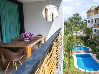 Amazing PH 3 Bedrooms For 10pp At Aldea Zama !!! Encanto304