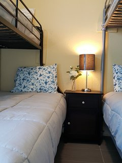 3rd-Bedroom: 2 Bunk-beds.