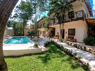 Beautiful apartment in the heart of Tulum. perfect for 2-4 guests.