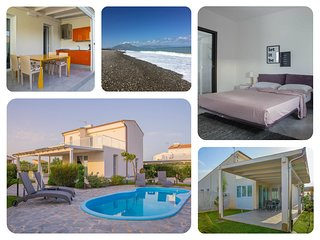 Big villa with pool close the sea - Lascari Cefalu