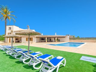 FINCA SANT BLAI NOU - Villa for 12 people in Campos