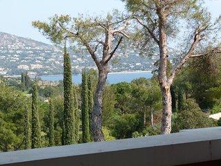 Cap Esterel : Studio terrasse d'angle vue dégagée mer K3 - 224la