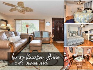 Oct Specials! 'A Wave from it all' Home - Main Street Daytona - 2BR/1BA