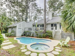 Palmetto Dunes 4BR, Close to Beach – Outdoor Living Space w/ Pool & Deck