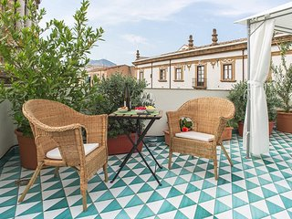 Terrace, charm and relax in the heart of La Kalsa