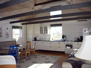 Nybyggt mysigt hus på Ölands artrikaste områden