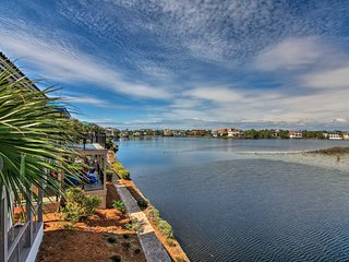 NEW! Lakeview Destin Condo - Walk to Beach!