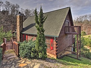 NEW! Sevierville Resort Cabin w/ Porch & Hot Tub!