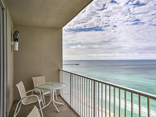 Oceanfront Panama City Condo w/ Resort Amenities!