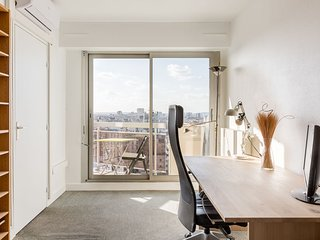 Appartement vue sur Paris