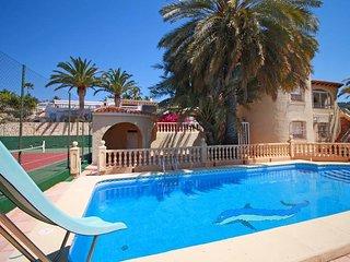 3 bedroom Villa in Calpe, Valencia, Spain : ref 5435380