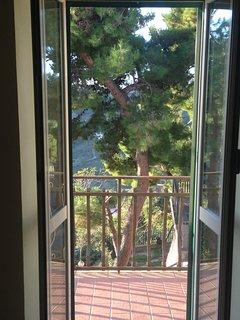 Balcony off master bedroom