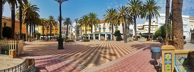 Laguna Square in Ayamonte