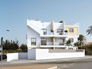 Luxury Ground Floor Apt, Meters from Beautiful Shores of the Mar Menor.