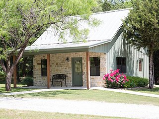 Stay in a beautiful cabin at our world famous Texas Ranch!