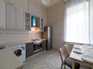 Apartment with view on Nevsky prospect