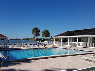 Peace and Quiet in Gated Community on Boca Ciega Bay