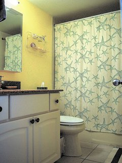 Main bath.  All bath towels included.  Separate beach towels included.