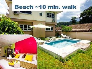 ♥ Best beach ♥  WI-FI, restaurants, supermarket - Arcadia Castle Villa