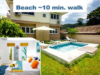 ♥  Full Jazz Villa - near to beach, restaurants, supermarket