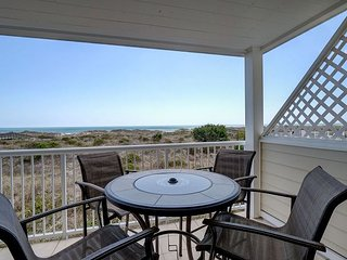 Wrightsville Dunes 1C-G - Oceanfront condo with community pool, tennis, beach