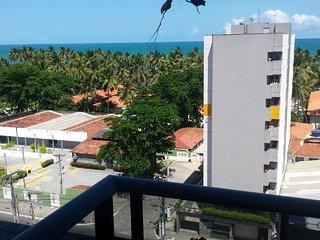 Apartamento p/ Temporada 2/4 vista p/ Mar de Jatiuca