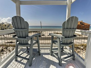 NEW! Navarre Beach House w/ Gulf & Sound Views!