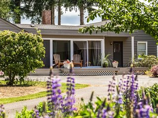 NEW! Waterfront Sequim Bay Home w/ Private Beach!