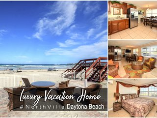 Oct Specials! Luxury Oceanfront Home #NorthVilla - 4BR/2BA