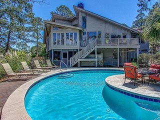 70 S. Sea Pines-Beautiful Views of Braddock Cove & a Quick Walk to the Beach.