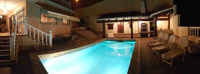 Take a evening dip in the pool!