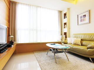 Boutique Serviced Apartments near MRT Taipei 101 with swimming pool & gym