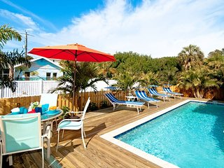St. Maarten - Walk in 2 Minutes to the Beach, Private Heated Pool, Free WiFi