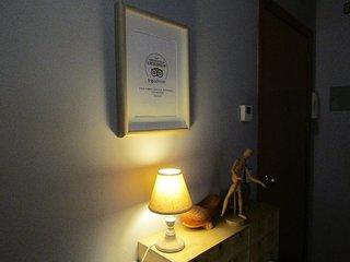 El apartamento ha sido galardonado con el certificado de excelencia de Tripadvisor.