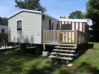 Mobil Home - T - Camping**** - Domaine de Kerlann - 40 m2 - 3 CH - 6/8 pers.