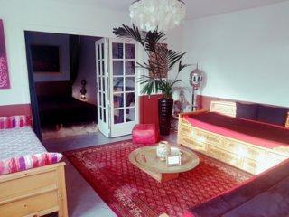 Maison d'Artistes au calme, Zen, romantique & energetique avec jacuzzi.