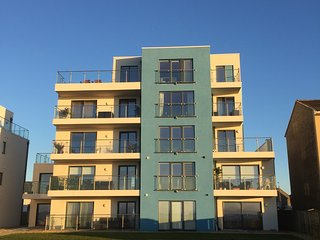 Beach view is a modern 2 bed ground floor apartment in the costal town of Troon