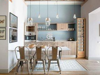 BCN Rambla Catalunya - Splendid and beautiful apartment with 3 bedrooms and 3 ba