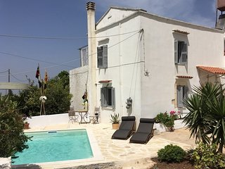 Villa Oraia - Traditional Stone Village House near Chania and Beautiful Beaches
