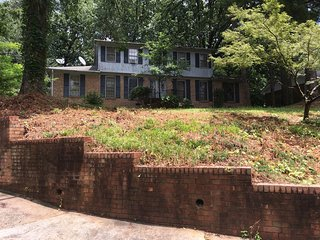 Convenience Location House in Norcross Georgia with Large Front and Back Yard.
