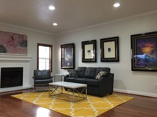Sup larger 1 bedroom 3 bath with large living room entire townhome super clean