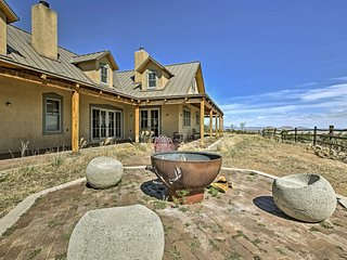Epic Mountain Estate w/Views - South of Santa Fe!