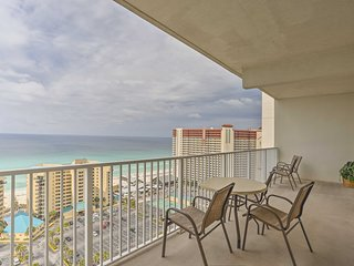 NEW! Panama City Resort Condo w/Waterfront Balcony