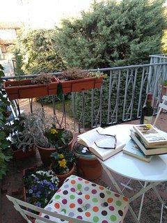 Rincón en la terraza