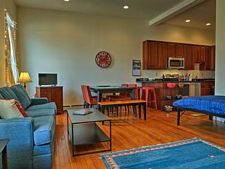 NEW! Catskills Area Loft-Style Condo in Downtown!