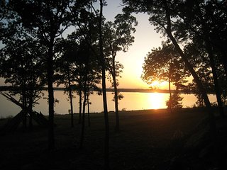 Lake Texoma Cabin On The Lake-Gorgeous Views