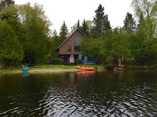 AFTICA Luxury Lakefront Cottage Rental Laurentians Quebec