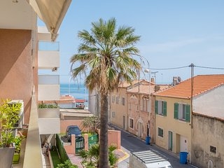 Spacious apartment in Point Croisette 1 min to the beach - Destination Cannes