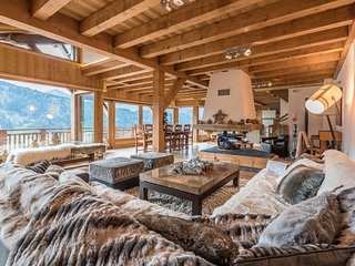 OMAROO II - Luxury chalet with amazing view and sauna
